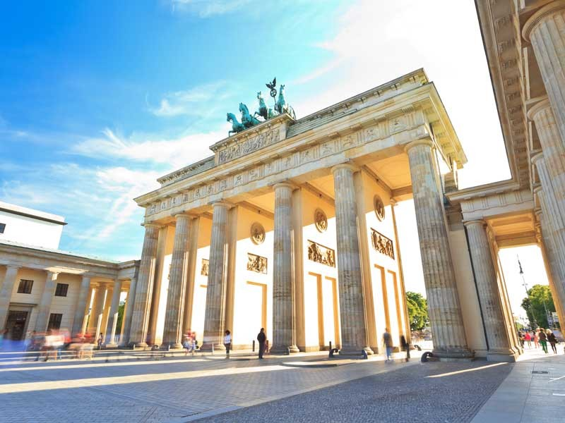 Europe Tour - Brandenburg Gates, Berlin