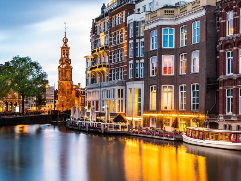 Europe Tour - Canals in Amsterdam