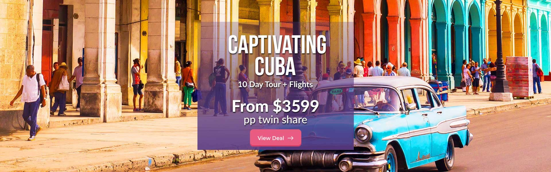 10 Day Captivating Cuba Tour with Flights