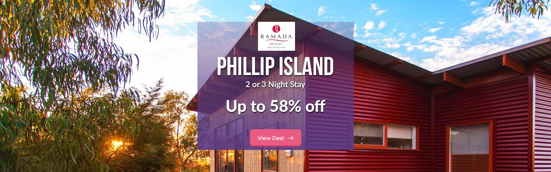 2 or 3 night stay at Ramada Phillip Island