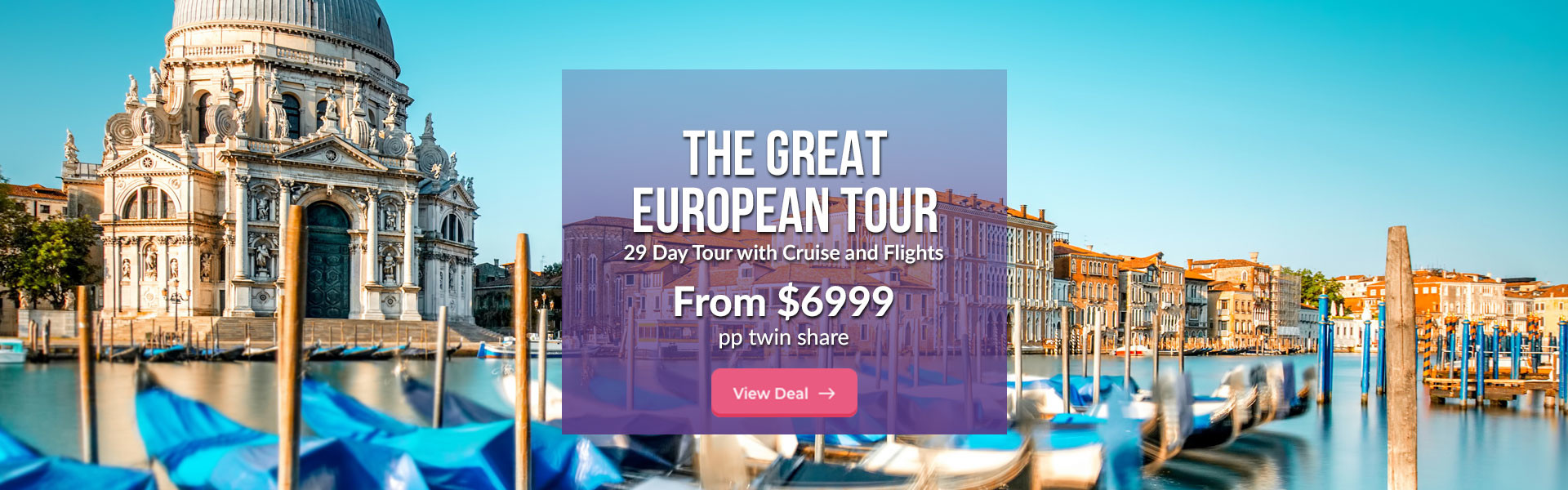 Europe Tour with Cruise
